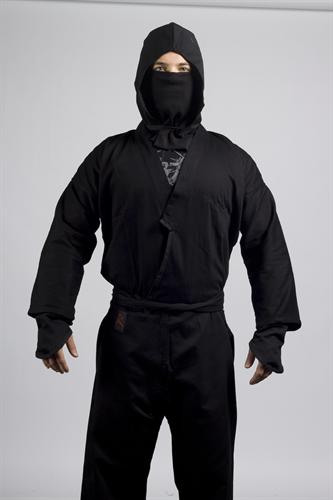 KD Elite Authentic Ninja Uniform with Hood and Mask Set